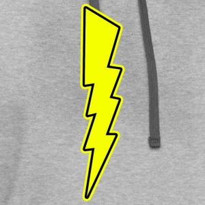 Bolt - Lightning - Shock - Electric T-Shirts - Contrast Hoodie