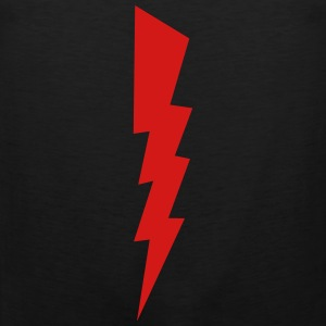 Bolt - Lightning - Shock - Electric Kids' Shirts - Men's Premium Tank