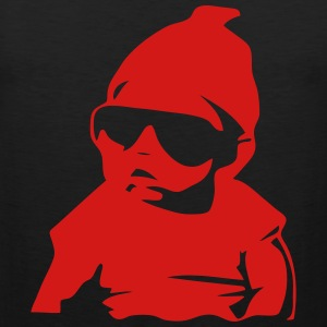 babby on baord Hoodies - Men's Premium Tank