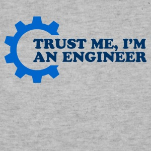 trust me im an engineer - Sweatshirt Cinch Bag