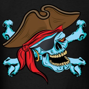 Pirate Skull Hoodies - Men's T-Shirt