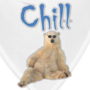 Chill Polar Bear T-Shirts - Bandana