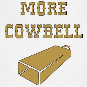 More Cowbell T-Shirts - Adjustable Apron