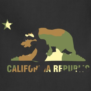 CALIFORNIA REPUBLIC Bear Camoflage T-Shirts - Adjustable Apron