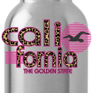 California Cheetah The Golden State Hoodies - Water Bottle