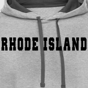 Rhode Island College T-Shirts - Contrast Hoodie