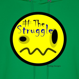 The Struggle logo yellow.png T-Shirts - Men's Hoodie