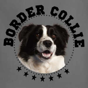 border collie - Adjustable Apron