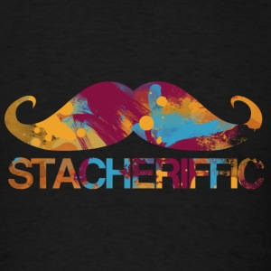 Stache Humor - Men's T-Shirt