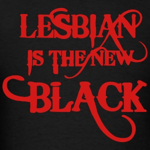 LESBIAN IS THE NEW BLACK Hoodies - Men's T-Shirt