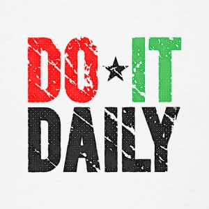 Do It Daily | Vintage Bottles & Mugs - Men's T-Shirt