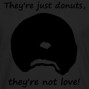 donutsnotlove Kids' Shirts - Men's Premium Long Sleeve T-Shirt