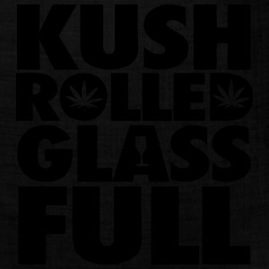 Kush Rolled Glass Full Hoodies - Bandana
