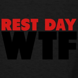 Rest Day WTF Bags & backpacks - Men's T-Shirt