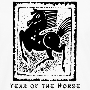 Year of The Horse T-Shirt - Men's Premium Long Sleeve T-Shirt