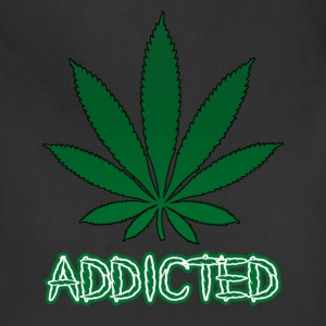 Addicted To Weed Hoodie - Adjustable Apron