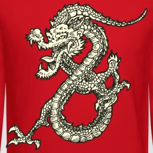 Dragon - Asian - Tattoo - Fantasy Kids' Shirts - Crewneck Sweatshirt