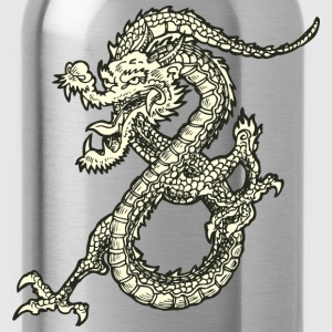 Dragon - Asian - Tattoo - Fantasy Kids' Shirts - Water Bottle