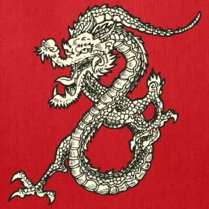 Dragon - Asian - Tattoo - Fantasy Kids' Shirts - Tote Bag