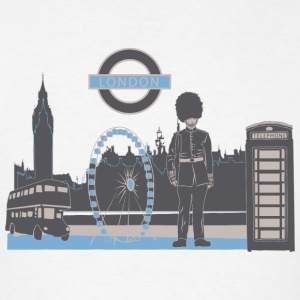 London with Love Tanks - Men's T-Shirt