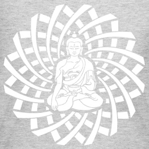Shakyamuni Buddha in white - Women's Long Sleeve Jersey T-Shirt