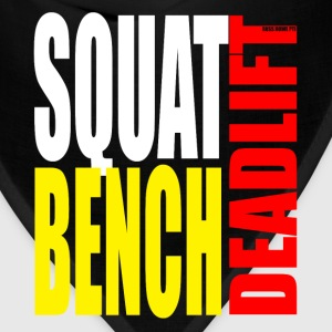 Squat Bench Deadlift - Women's Hoodie - Bandana