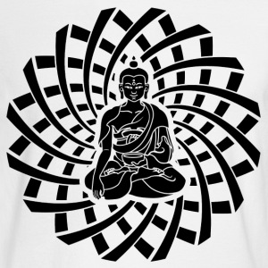 Shakyamuni Buddha in black - Men's Long Sleeve T-Shirt