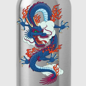 Dragon - Asian - Tattoo - Fantasy T-Shirts - Water Bottle