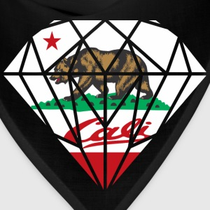 California Diamond Bear Hoodies - Bandana