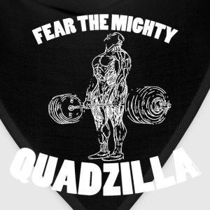 Funny Gym Shirt - Quadzilla 2 - Bandana