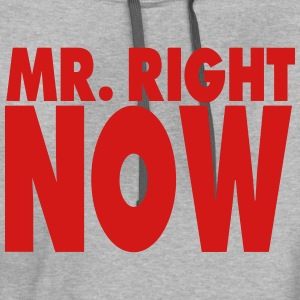 MR. RIGHT NOW - Contrast Hoodie