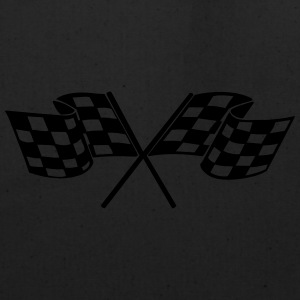 Racing - Racer - Checkered Flag Kids' Shirts - Eco-Friendly Cotton Tote