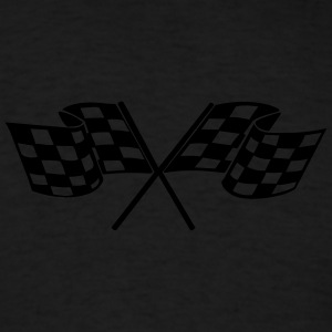 Racing - Racer - Checkered Flag Hoodies - Men's T-Shirt