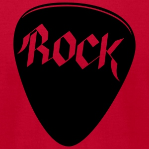 Guitar Pick - Rock and Roll - Band - Musician Hoodies - Men's T-Shirt by American Apparel
