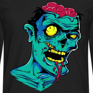 Zombie - Undead - Geek - Horror - Scifi - Dead Kids' Shirts - Men's Premium Long Sleeve T-Shirt