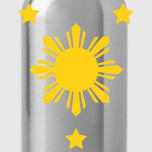 Sun Stars Mens Filipino Tshirt - Water Bottle