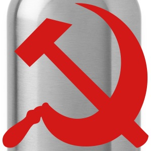 Communism Hammer and Sickle T-Shirts - Water Bottle