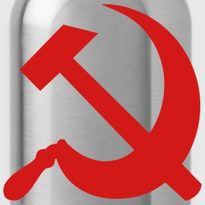 Communism Hammer and Sickle Women's T-Shirts - Water Bottle