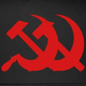 Communism Hammer and Sickle Zip Hoodies & Jackets - Trucker Cap