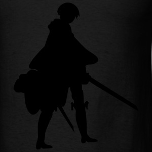 Captain Levi Shingeki no Kyojin Bags & backpacks - Men's T-Shirt