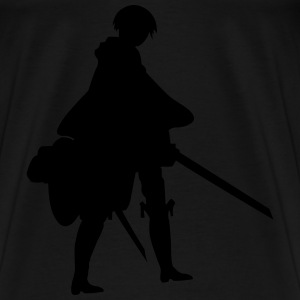 Captain Levi Shingeki no Kyojin Bags & backpacks - Men's Premium T-Shirt