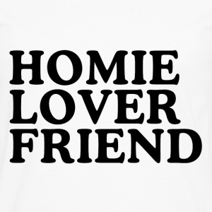 Homie Lover Friend Women's T-Shirts - Men's Premium Long Sleeve T-Shirt