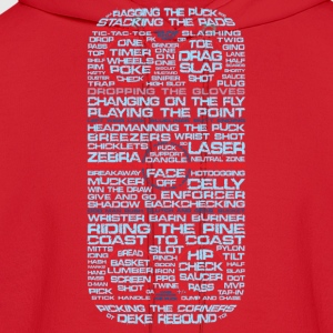 Hockey RInk Typography Women's T-Shirts - Men's Hoodie