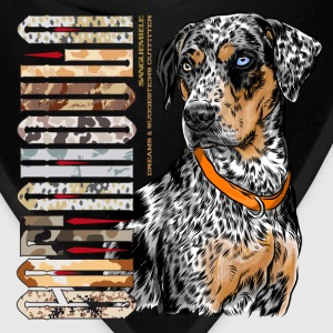 catahoula_dog Women's T-Shirts - Bandana