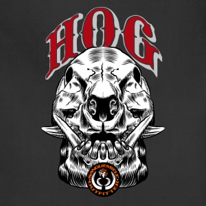 wild_hog_skull T-Shirts - Adjustable Apron