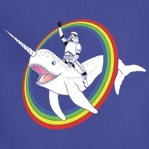 Narwhal Rainbow Stormtrooper - Adjustable Apron