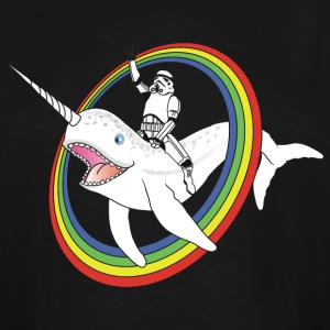Narwhal Rainbow Stormtrooper - Men's Tall T-Shirt