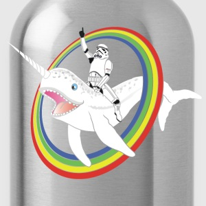Narwhal Rainbow Stormtrooper - Water Bottle