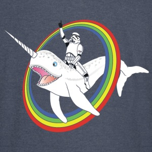 Narwhal Rainbow Stormtrooper - Vintage Sport T-Shirt