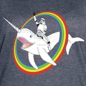 Narwhal Rainbow Stormtrooper - Women's Vintage Sport T-Shirt